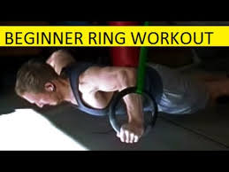 super beginner ring workout 12 exercises with sets reps sequencing