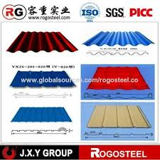 china have a galvanized steel corrugated metal sheet roof panel