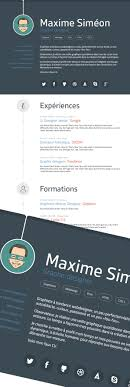 Resume Template For Graphic Designer Free Professional CVResume And Cover Letter PSD Templates 24
