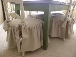 drop cloth chair cushion covers