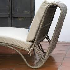 Chaise Lounges Living Sun Double Chaise Lounge With Cushion