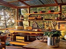 Rustic Outdoor Kitchen Rustic Outdoor Kitchen Ideas Rustic Outdoor Decorating Ideas
