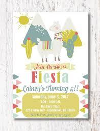 Print Out Birthday Invitations Enchanting Birthday Fiesta Invitation Printable Birthday Fiesta Invitation