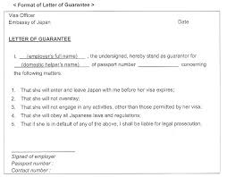 Letter Of Personal Guarantee Template Archives Southbay Robot