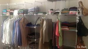 Store Clothes Without Closet, Smart Ideas   YouTube