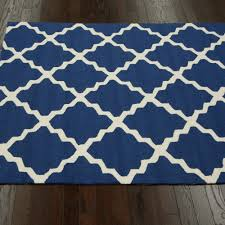 navy blue outdoor trellis outdoor rug 4ft x 6ft