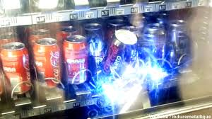 How To Rob A Soda Vending Machine Extraordinary Robot Steals Soda From The Vending Machine Hackaday