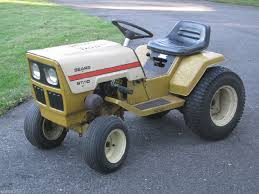 old sears riding lawn mowers. vintage 1977 sears st/10 lawn garden tractor 10hp briggs \u0026 stratton engine # old sears riding lawn mowers pinterest