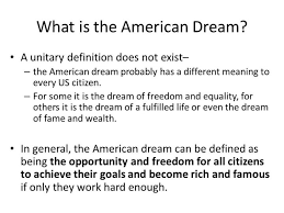 what does the american dream mean essay docoments ojazlink the american dream definition essay samples for you