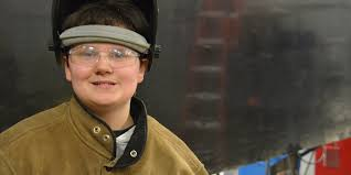 ready to work american radioworks a student learns welding at a vocational high school in massachusetts photo emily