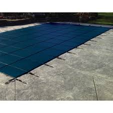 safety pool covers. Wonderful Covers Rectangle Blue Solid InGround Safety With Pool Covers 0