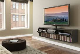 Floating Tv Stand Black Altus Plus 58 Floating Tv Stand Walmart Canada