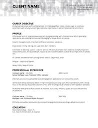 finished resume examples