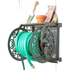 liberty garden navigator rotating hose reel garden hose reel top rated heavy duty wall mounted garden
