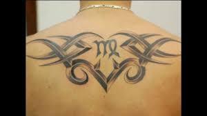 знак зодиака дева мужчина тату