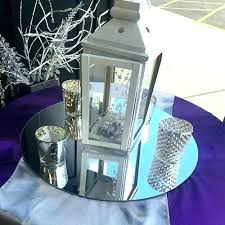mirror table centerpiece ideas glass centerpieces beveled for tables wave 4 round mobilizer