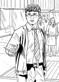 Coloring Page Harry Potter Coloringme