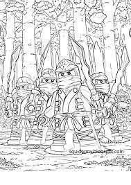 Educations Christmas Lego Ninjago Coloring Pages Printable