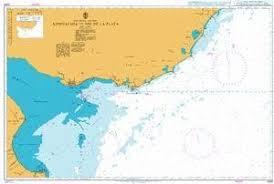 Amazon Com Ba Chart 3064 Approaches To Rio De La Plata