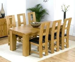 dining table with 6 chairs stylish interesting oak dining room table and 6 chairs on
