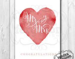 congratulation card etsy Wedding Greeting Cards Printable 5x7 printable \