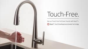Motion Sensor Kitchen Faucet Design400534 Touch Kitchen Faucets Just A Touch Faucets