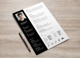 Resume And Cover Letter Templates Free Free Psd Resume Cover Letter Template Design For Web