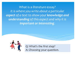 yr how to study literature and how to write an essay ppt video 27 what is