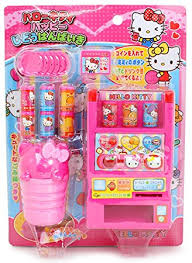 Toy Vending Machine Canada Beauteous Hello Kitty Toy Vending Machine With Coins Juice And Other