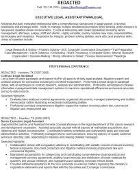 Examples Of Paralegal Resumes - Examples of Resumes