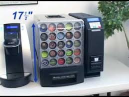 Vending Machine Dispenser Enchanting KCup Vending Machine YouTube