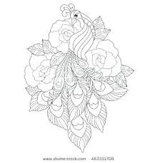 Coloring Pages Creative Book Rose Free Ideas Rosemaling Flowers
