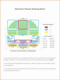 Gershwin Seating Chart High Quality Gershwin Theater Nyc Seating Chart Gershwin