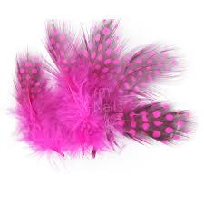 X Nails Peříčka Na Zdobení Nehtů 3 Ks Tmavě Růžová