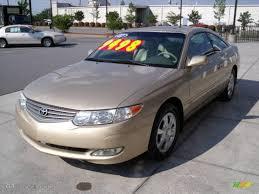 2002 Gold Dust Metallic Toyota Solara SE V6 Coupe #11355673 ...