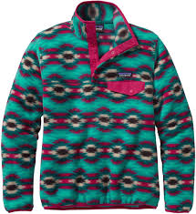 Patagonia Patterns Magnificent Patagonia Women's Lightweight Synchilla SnapT Pullover CLEARANCE