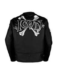 icon motorhead skull motorcycle jacket