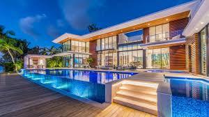 Contemporary Waterfront Estate In Miami Beach Lists For 40 Million Amazing Miami Home Design Exterior
