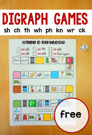 5 free games for teaching digraphs - The Measured Mom