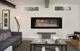 boulevard 48 inch direct vent linear see through fireplace