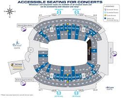 New England Patriots Seating Chart Gillette Seat Map Gillette Stadium Concert Seating Chart For