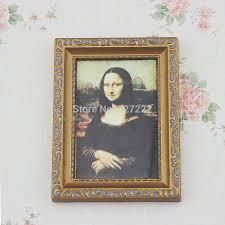Aliexpress.com : acquista mona lisa pittura quadro cornice dorata
