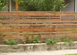 White Horizontal Wood Fence And Horizontal Wood Fence Diy In Fence