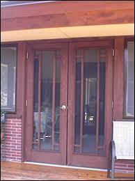 double storm doors. Pair Of 7117 Doors As Double Storm