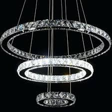 chandeliers modern diamond ring led k9 crystal chandelier light fixture for within chandelier for restaurant
