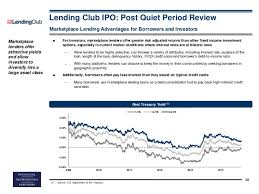 Lending Club Borrower Reviews Ft Partners Research Lending Club Ipo Post Quiet Period Review