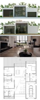 25 best small modern house plans ideas on modern with regard to smallcontemporaryhouseplans