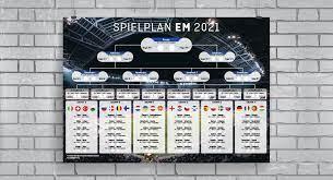 Uefa.com ist die offizielle website der uefa, der union der europäischen fußballverbände, dem dachverband des fußballs in europa. Europameisterschaft 2021 Spielplane Viele Info S