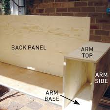 Image Sofa Table How To Build Sofa With Chaise Lounge Step Australian Handyman Magazine Do It Yourself Build Sofa With Chaise Lounge Australian