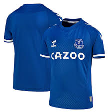Everton have launched its 2018/19 away jersey from umbro. Everton Fc Apparel Everton Jerseys Shirts And Gear